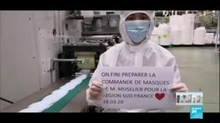 2020-04-02 13:07 Coronavirus : Les masques, nouvel or blanc, détourné sur le tarmac par les États-Unis