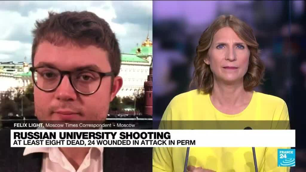 2021-09-20 11:04 Shooting at Russian university leaves 8 dead, 24 hurt