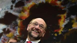 Martin Schulz a été élu avec 100 % des voix à la tête du SPD.