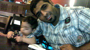 Bahraini Mohamed Ramadhan, in an undated photo obtained from his family, has been sentenced to death for murdering a police officer