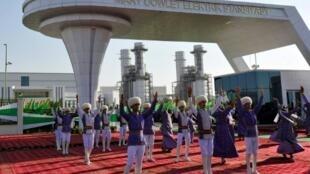 Secretive Turkmenistan makes no secret of its energy ambitions