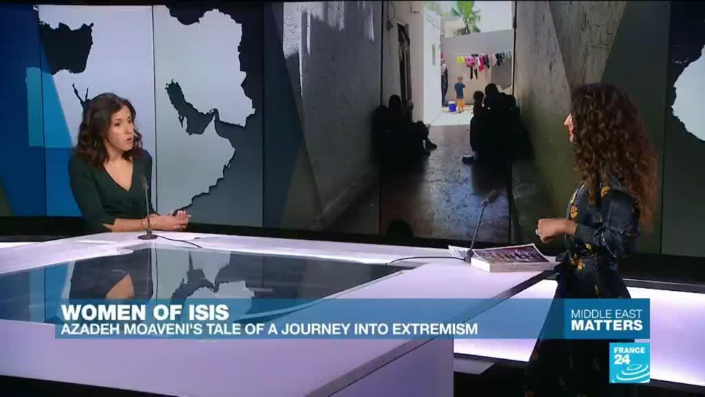 2019-10-09 11:22 Women of ISIS: Azadeh Moaveni's tale of a journey into extremism