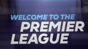 Le logo de la Premier League, qui reprend le 18 juin 2020.