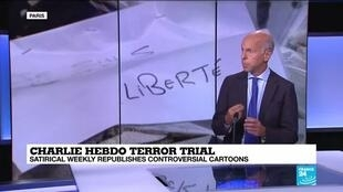 2020-09-01 14:11 Charlie Hebdo terror trial: Satirical weekly republishes controversial cartoons