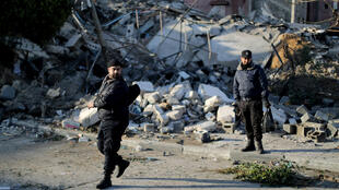 Un raid israélien sur Gaza, le 25mars2019.