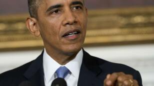 Barack Obama a dû accepter un certain nombre d'amendements républicains pour faire passer le projet de budget.