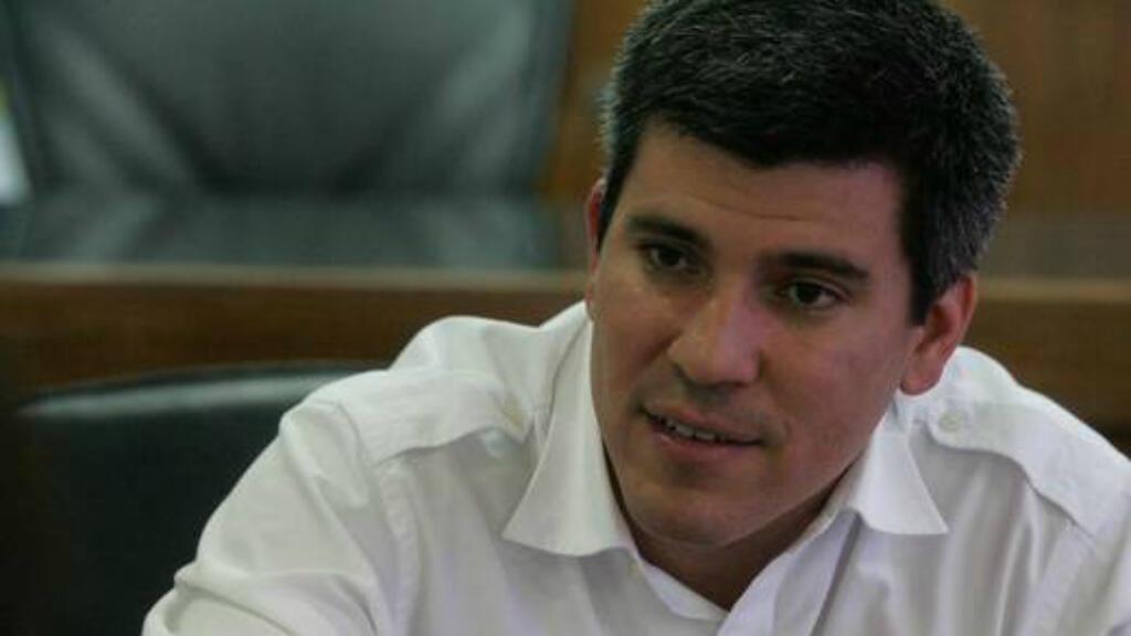 David Uzcátegui, dirigente del partido opositor venezolano Primero Justicia