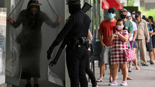 Restrictions on movement were loosened in Manila to boost the economy, which has been battered by the COVID-19 pandemic