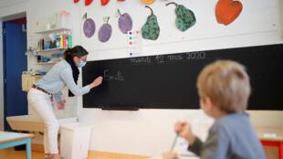 Ecole-professeur-classe