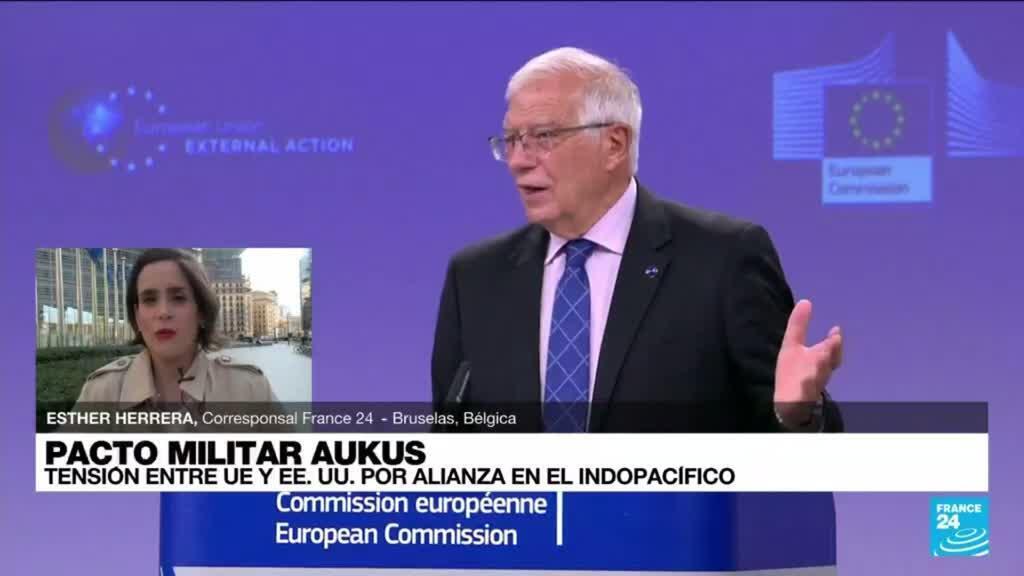 2021-09-16 19:04 Informe desde Bruselas: tensión entre UE y EE. UU. por pacto indopacífico