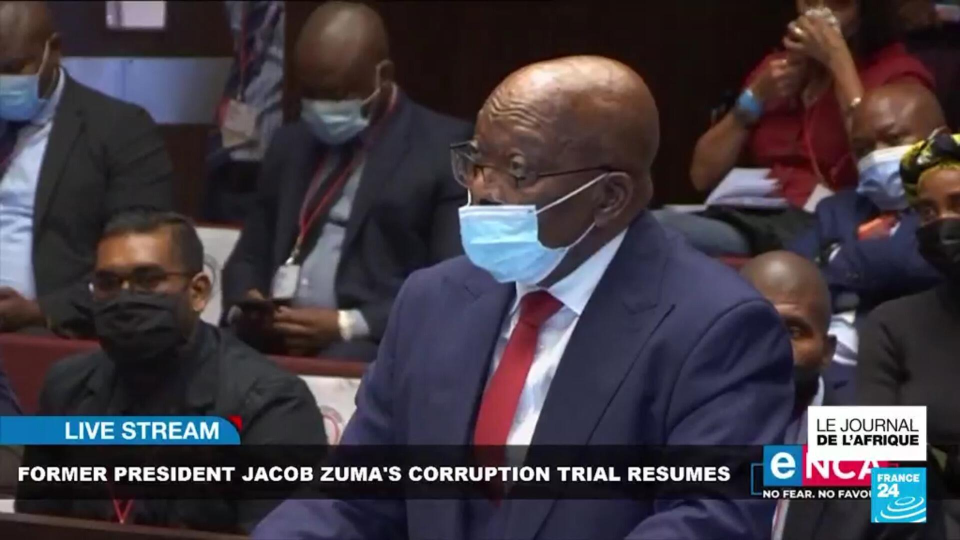 Jacob Zuma, ancien président de l'Afrique du Sud, condamné à 15 mois de prison