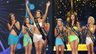 Les candidates -ici lors du concours 2017-, ne défileront plus en bikini.