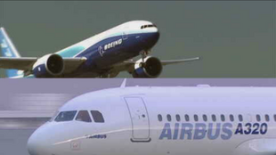 The EU and the US have agreed to freeze tariffs originating from a dispute over Boeing and Airbus subsidies.