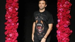 Italian fashion designer Riccardo Tisci, now at Burberry, is a headline designer at the London Fashion Week