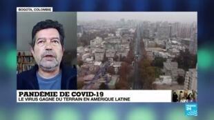 2020-05-21 17:01 Covid-19 : le virus gagne du terrain en Amérique latine