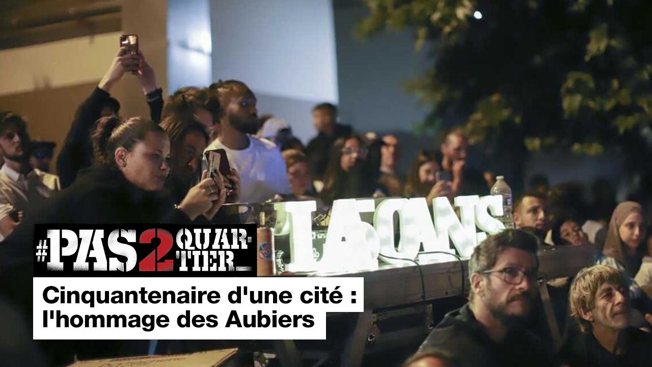 Cinquantenaire d'une cité : l'hommage des Aubiers