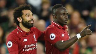 Mohamed Salah et Sadio Mané, deux joueurs phares de Liverpool.