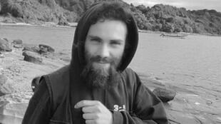 Archivo: el activista Santiago Maldonado, quien desapareció el 1° de agosto de 2017 durante un operativo policial.
