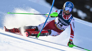 Marco Schwarz had already won a gold medal at these world championships but failed to reach the final of the parallel giant slalom