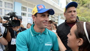 Henrique Capriles was a presidential candidate in 2012 and 2013 and is now pushing for opposition voters to take part in elections
