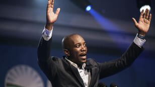 """Mmusi Maimane est déjà surnommé """"Barack Obama de Soweto"""" par ses partisans, notamment pour ses talents d'orateur."""