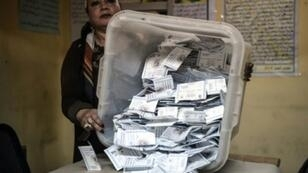 فرز الأصوات بعد ثلاثة أيام من الانتخابات الرئاسية في مصر في 29 آذار/مارس 2018
