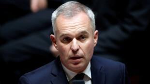 François de Rugy habla durante el turno de preguntas al Gobierno en la Asamblea Nacional de Francia.