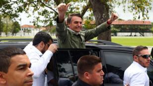 الرئيس البرازيلي الجديد جايير بولسونارو.