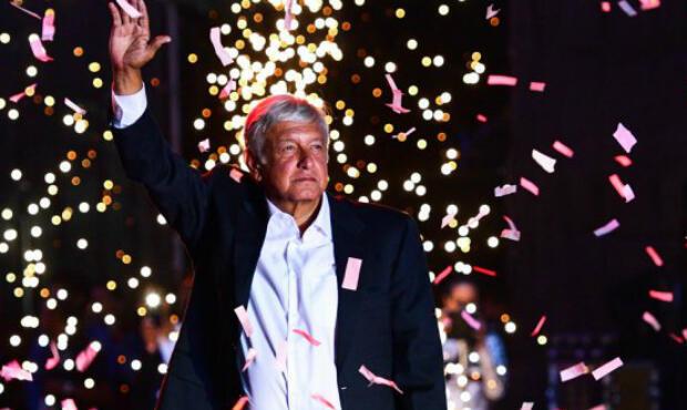 El nuevo presidente de México, Andrés Manuel López Obrador, que toma posesión el 1 de diciembre de 2018.