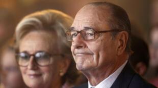 """Jacques Chirac a longtemps été surnommé """"l'intouchable""""."""