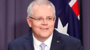 Le Premier ministre australien, Scott Morrison, à Canberra, le 24août2018.