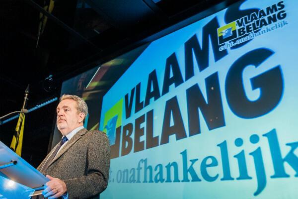 Vlaams Belang. © AFP