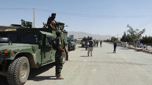 Tras el atentado en la mezquita chií, el Gobierno de Afganistán desplegó tropas de seguridad en la provincia de Paktia el 3 de agosto de 2018.