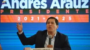 Andres Arauz won the first round of Ecuador's presidential election, but not by enough to win outright