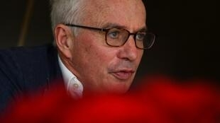 Global Fund head Peter Sands warned of the health security risk of drug-resistant TB in an interview with AFP