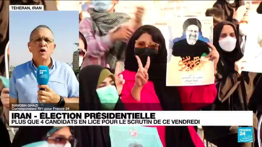 2021-06-17 14:38 Élection présidentielle en Iran : plus que quatre candidats en lice pour le scrutin