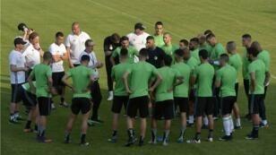 المنتخب الجزائري لكرة القدم.