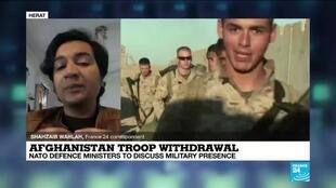 2021-02-17 09:36 NATO defence ministers to discuss Afghanistan troop withdrawal