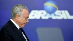 الرئيس البرازيلي السابق ميشال تامر