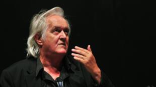 L'auteur suédois Henning Mankell, le 3 juin 2010.