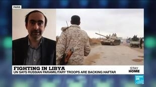2020-05-08 14:10 UN diplomats confirm Russian paramilitary troops are fighting  in Libya backing Gen Haftar