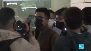 2020-11-23 10:12 Procès de Joshua Wong : le militant pro-démocratie a plaidé coupable