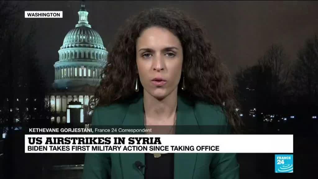 2021-02-26 08:32 US strikes Iran-backed militias in Syria in Biden first