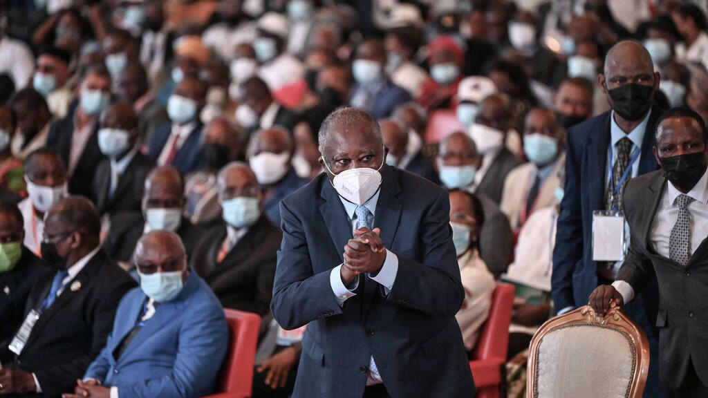 Former Ivorian President Laurent Gbagbo launches new political party