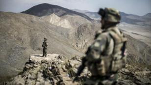 Des soldats de l'armée française dans la province de Wardak en Afghanistan, le 26 septembre 2012.