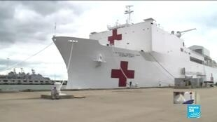2020-03-20 00:11 Coronavirus pandemic: US Navy deploys two hospital ships as COVID-19 spreads