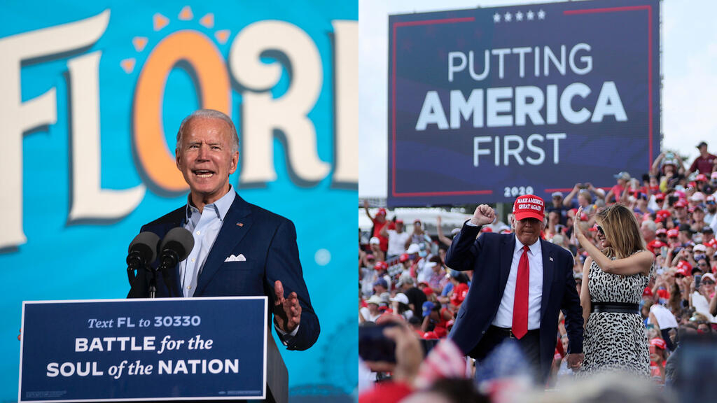 Trump, Biden hold duelling rallies in battleground Florida as US Covid cases hit one-day record