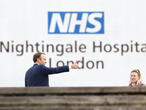 Field hospital opens in London, adding 4,000 beds to coronavirus fight