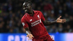 Liverpool's Sadio Mané