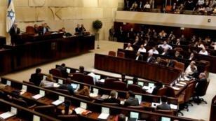 جلسة للكنيست في 24 حزيران/يونيو 2015 في القدس